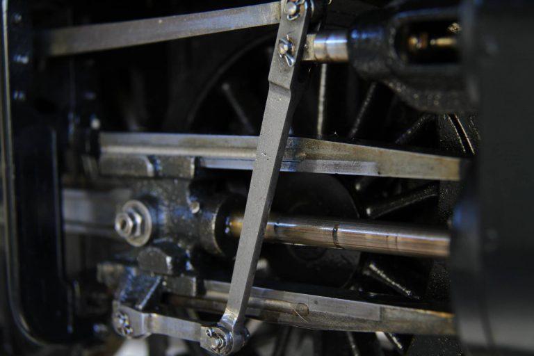 BHMSRS steam locomotive 5711 valvegear