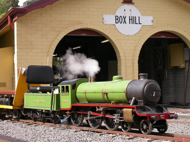 BHMSRS Springbok steam locomotive