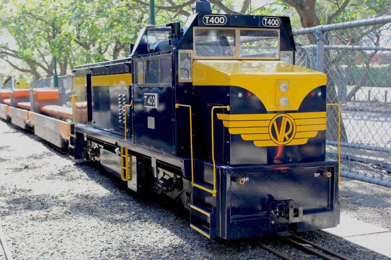 BHMSRS T400 diesel locomotive