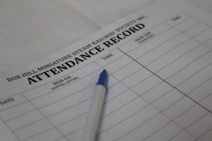 BHMSRS attendance record