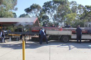 BHMSRS loading area