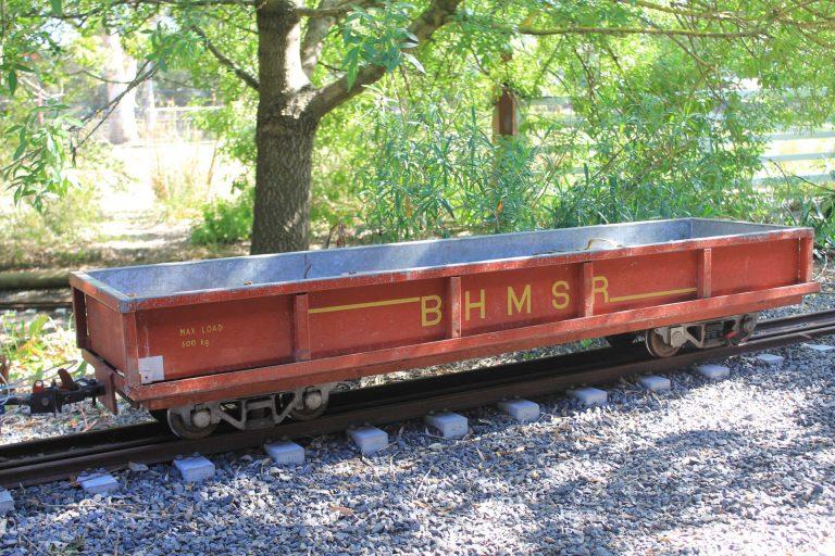 BHMSRS signal wagon