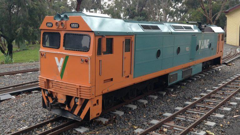 BHMSRS G520 diesel locomotive